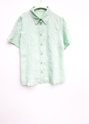 Блузочка с коротким рукавом блузка натуральная