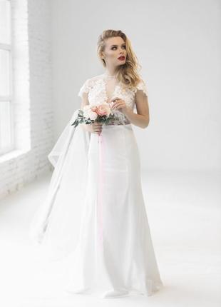 Весільна сукня. нова!!!1 фото