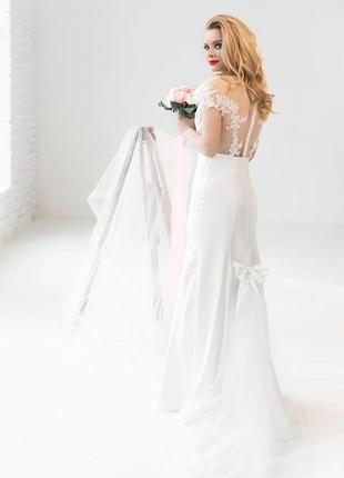 Весільна сукня. нова!!!2 фото