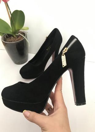 Туфли замш sale
