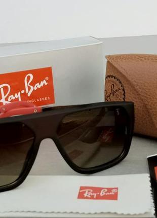 Ray ban ferrari очки мужские солнцезащитные поляризированые коричневые