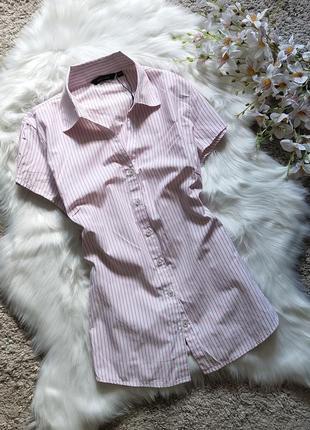 Стильная рубашка в актуальную полоску wardrobe.