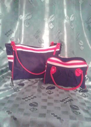Набір  зручних  якісних  сумок