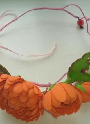 Веночек хризантемы
