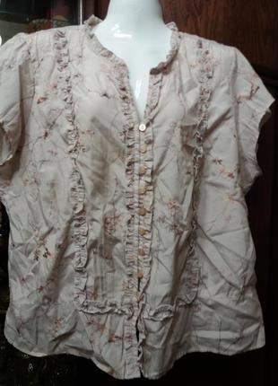 Блузка -plus size -  вм-20 -22р