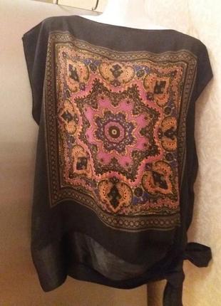 Блуза-платок-12-14р       распродажа