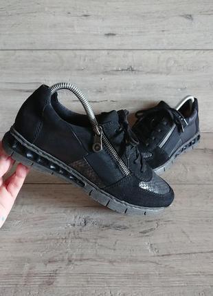 Туфли мокасины рикер rieker 39 р 25 см