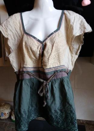 Блузка котон- ---- next-20р              распродажа
