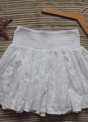 Легкая летняя юбка слоями george р  м