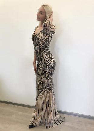 Ослепительное, нарядное, праздничное, выпускное платье