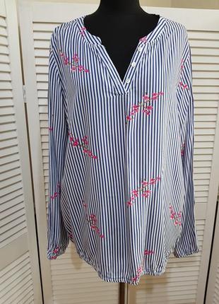 Стильная блуза в полоску chicoree