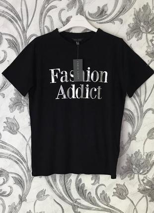 7b5c417c6c5 Серебристые женские футболки с надписью 2019 - купить недорого вещи ...