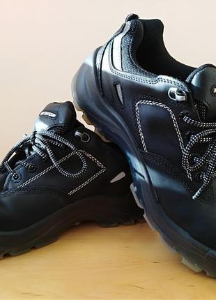 Кожаные ботинки panda