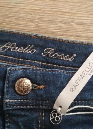 Качественные стрейчевые джинсы от rafaello rossi6 фото