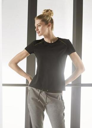 Женская функциональная футболка черная германия