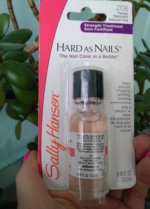 Средство для укрепления ногтей против ломкости для роста sally hansen