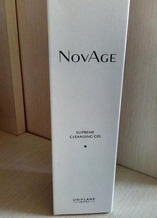 Очищающий гель-тоник для умывания novage