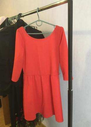Осенне-весеннее платье
