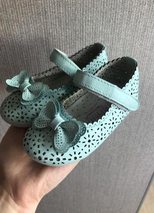 Кожаные туфельки сандали балетки