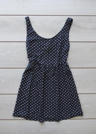 Платье сарафан в горошек от h&m1 фото