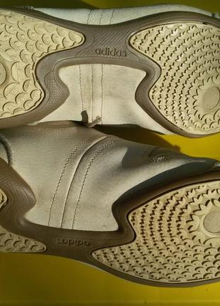 Кроссовки облегченные, натуральная кожа adidas5 фото