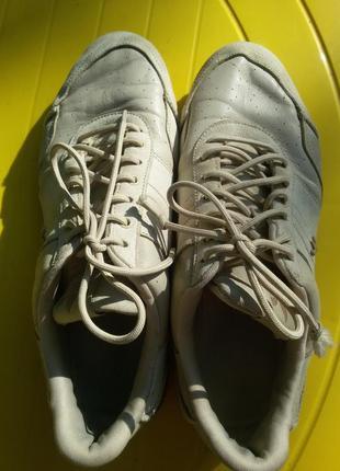 Кроссовки облегченные, натуральная кожа adidas6 фото