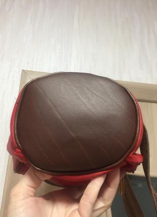 Кожаный рюкзачок италия!2 фото