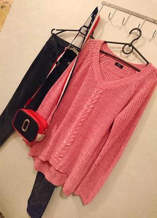 Трендовый вязаный свитер с косичкой 🔸бренд f&f2 фото