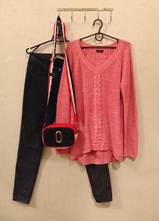 Трендовый вязаный свитер с косичкой 🔸бренд f&f1 фото