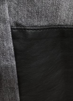 Необычные серые джинсы, 32 р-р4 фото