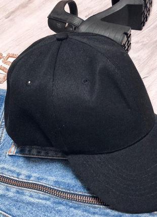 Чёрная кепка унисекс  новая!!!3 фото