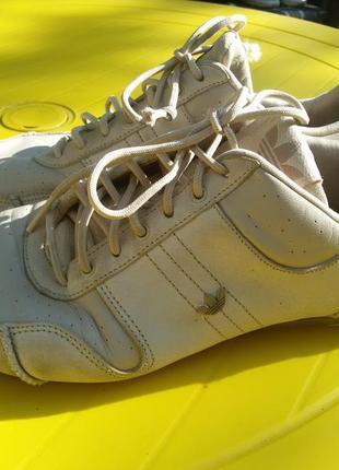 Кроссовки облегченные, натуральная кожа adidas9 фото