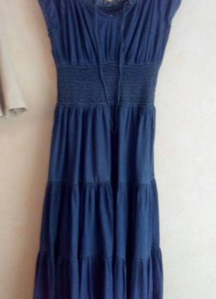 Джинсовое платье,платьице,р.14-161 фото