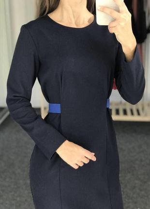 Платье синие большой размер cos cos2 фото