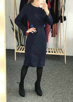 Платье синие большой размер cos cos4 фото