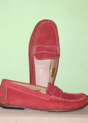Кожаные туфли лоферы.длина стельки – 25,5 см1 фото