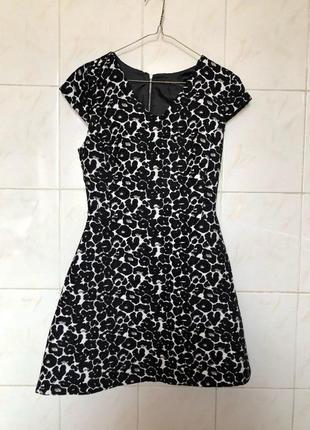 Платье в леопардовый принт леопард zara zara5 фото