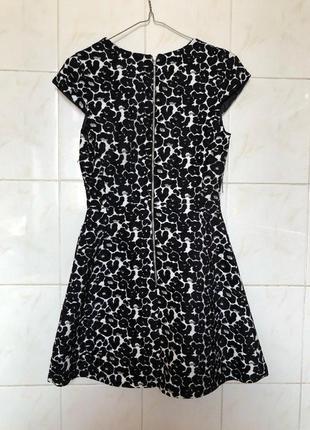 Платье в леопардовый принт леопард zara zara6 фото