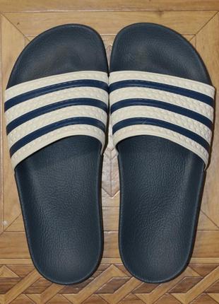Шлепанцы сланцы adidas originals adilette(оригинал)р.40.5