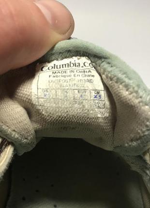 Женские летние треккинговые кроссовки columbia6 фото