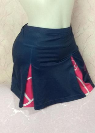 Юбка с шортами спортивная