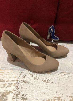Туфлі із натурального нубука,від minelli1 фото