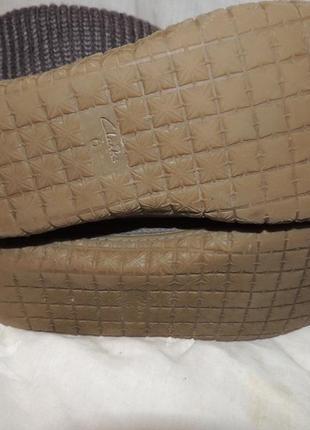 Замшевые сапожки сlarks для проблемных ног 397 фото