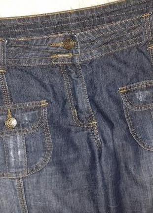 Стильные джинсовые шорты2 фото