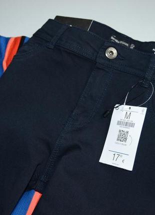 Bershka джинси темно сині скіні3 фото