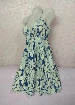 Платье сарафан хлопок lime5 фото