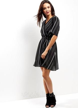 Платье в полоску на запах new look new look2 фото