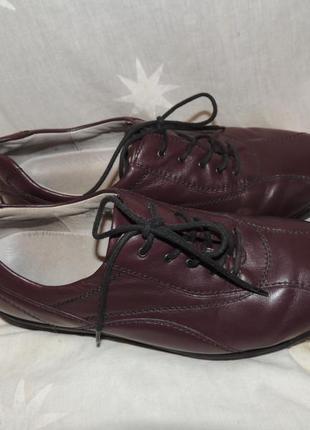 Кожаные туфли waldlaufer германиядля проблемных ног 39-39.5 h1 фото