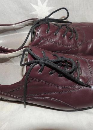Кожаные туфли waldlaufer германиядля проблемных ног 39-39.5 h7 фото