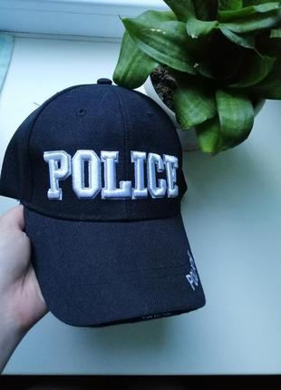 Кепка police унисекс